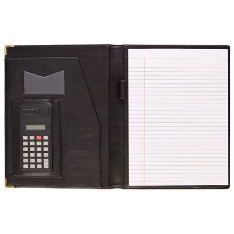 Picture of Executive Portfolio with calculator - PU