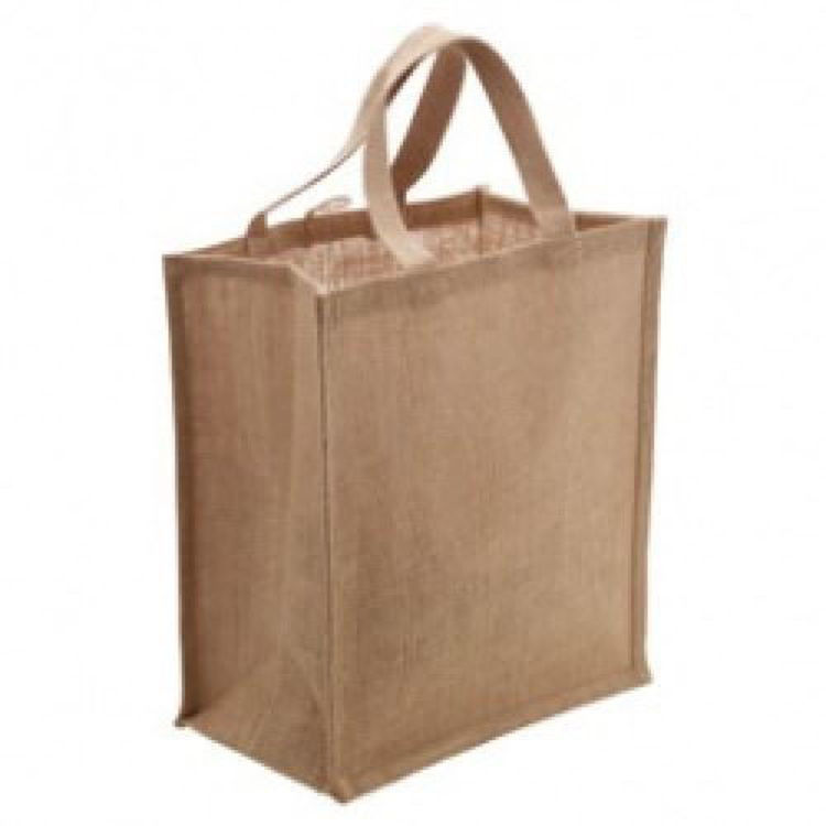 Picture of Jute Australian Supermarket Bag