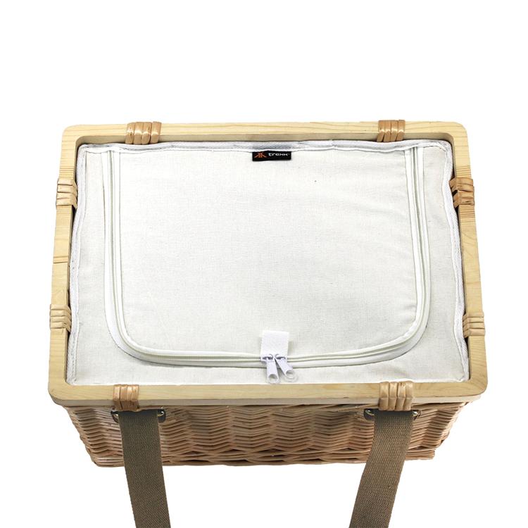 Picture of Sorrento Trekk Wicker Cooler Basket