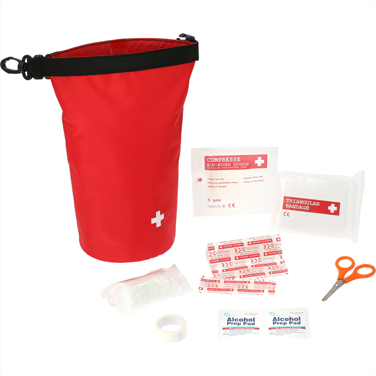 Picture of Venture Waterproof 12-Pc First Aid Bag
