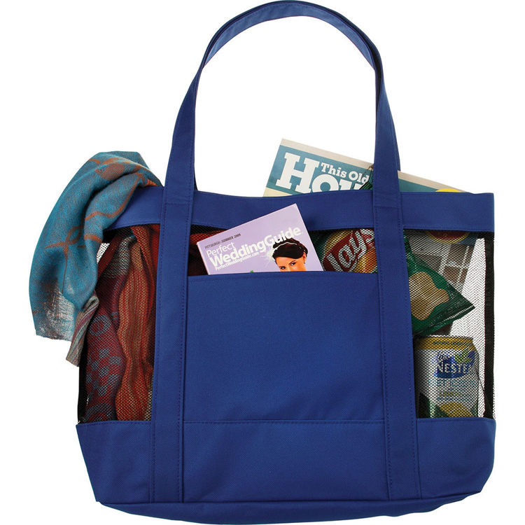 Picture of Surfside Mesh Accent Tote